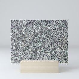 Granite Background Texture Mini Art Print