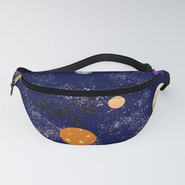 Space Theme Fanny Pack