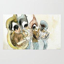 Sousaphone band Rug