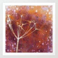 Amber Myst Art Print
