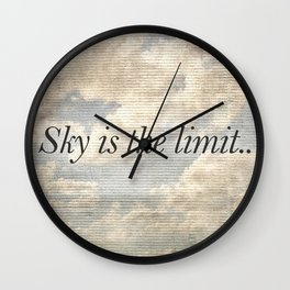 Motivational Quotes Photo Wall Clock