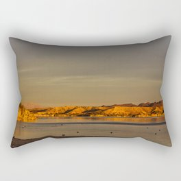 Morning Gold Rectangular Pillow