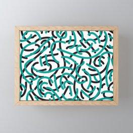 woke up Framed Mini Art Print