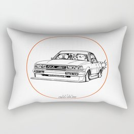 Crazy Car Art 0209 Rectangular Pillow