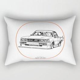 Crazy Car Art 0209 Rectangular Pillow