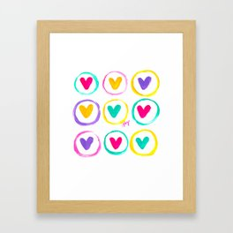 We Are Made of Colours Framed Art Print