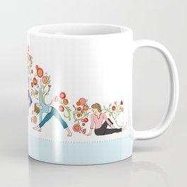 Yoga Girls_Growing With Poses_Robin Pickens Coffee Mug