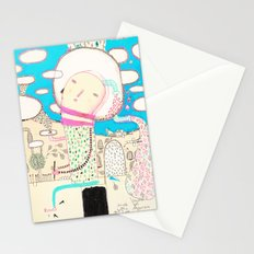 Be led by your dreams Stationery Cards