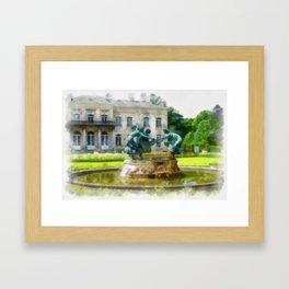 Castle Den Brandt Framed Art Print