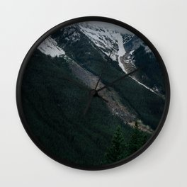 Kananaskis 2 Wall Clock