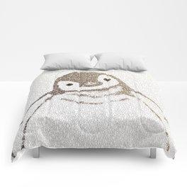 The Little Intellectual Penguin Comforters