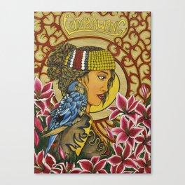 The Lunbawang girl Canvas Print