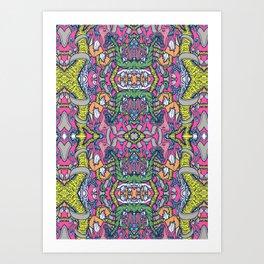 Mirrored World Art Print