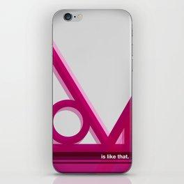 is like that iPhone Skin