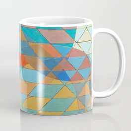 Triangle Pattern No. 11 Circles Coffee Mug
