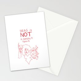 Drag Is NOT A Contact Sport Stationery Cards