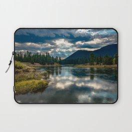 Snake River Revival - Morning Along Snake River in Grand Tetons Laptop Sleeve
