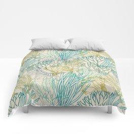 Flowing sea 2 Comforters