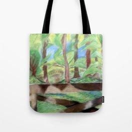 Flash of Scenery Tote Bag