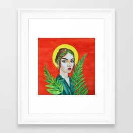The Goddess of Youth Framed Art Print