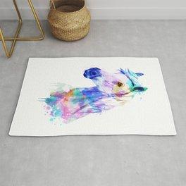 Horse Watercolor, Horse Print, Watercolor Print, Watercolor Animal, Horse Painting, Horse Gift Print Rug