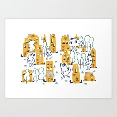 Casitas Art Print