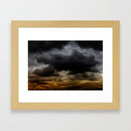 Gloomy Sky 0011 Framed Art Print