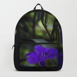 Violet flowers Backpack