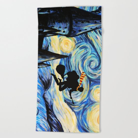 Harry Potter Starry Night Beach Towel