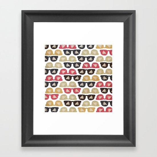 HipsterSummer Framed Art Print