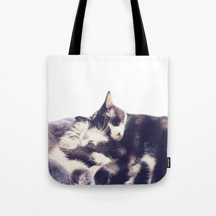 Cats again Tote Bag