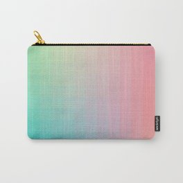 Lumen, Pink and Teal Carry-All Pouch
