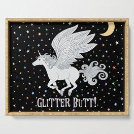 Glitter Butt! Serving Tray