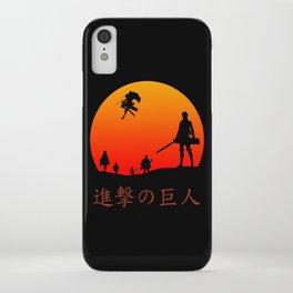 Scout Regiment iPhone Case