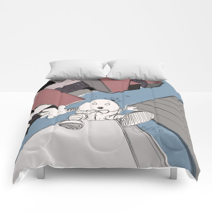 Humpty Dumpty's Free Fall Comforters