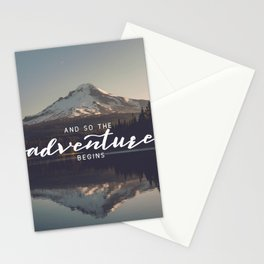 Trillium Adventure Begins - Nature Photography Stationery Cards