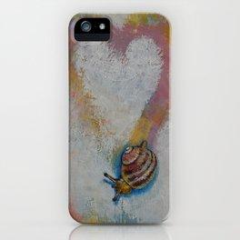 Snail iPhone Case