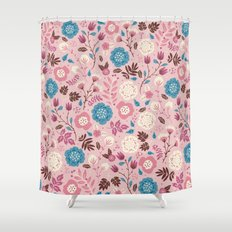 Pretty Pink Shower Curtain