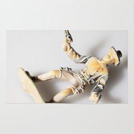 The Little Cowboy, fallen Rug