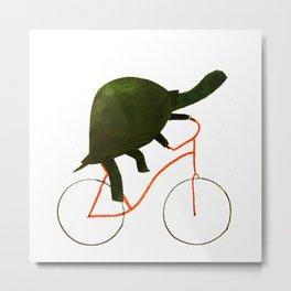 Reason ONE for using bike. Metal Print