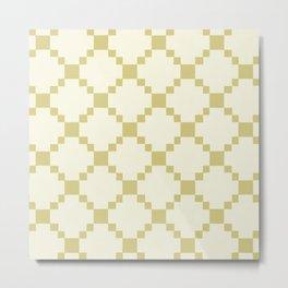 geo squares-bright Metal Print
