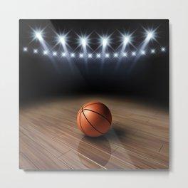 Basketball game Metal Print