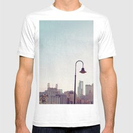Minneapolis Minnesota Skyline at the Stone Arch Bridge T-shirt