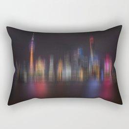 Shanghai Skyline III Rectangular Pillow