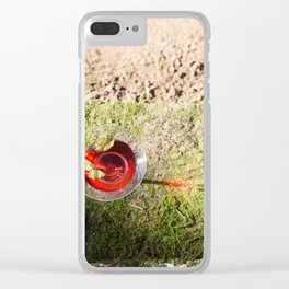 drink up Clear iPhone Case