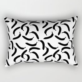 banana collage Rectangular Pillow