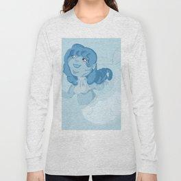 Blue Mermaid Long Sleeve T-shirt