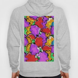 Colorful Scrambled Eggs Hoody