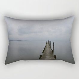Lake Chiemsee In A Mist Rectangular Pillow