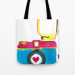 Love Snap Tote Bag